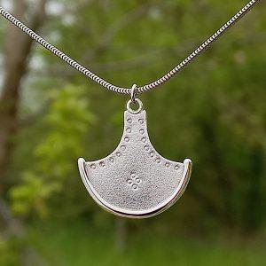 Axehead 4 dot pendant